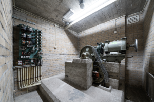 oude machinekamer lift
