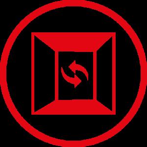 symbool ventilatie lift